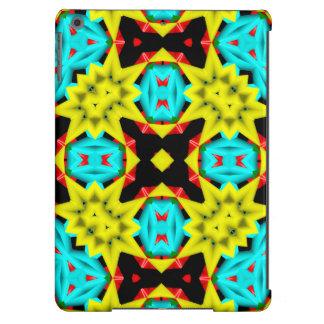 Teste padrão colorido na moda capa para iPad air