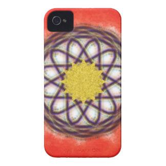 Teste padrão colorido original capas para iPhone 4 Case-Mate