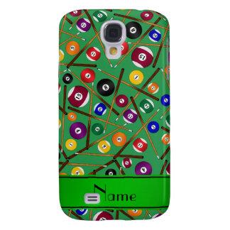 Teste padrão colorido verde conhecido galaxy s4 cases