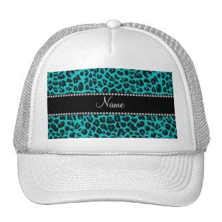Teste padrão conhecido personalizado do leopardo d boné