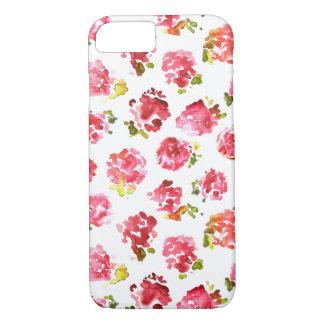 Teste padrão cor-de-rosa bonito e elegante dos capa iPhone 7
