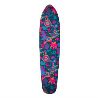 Teste padrão cor-de-rosa brilhante legal do pop shape de skate 20,6cm