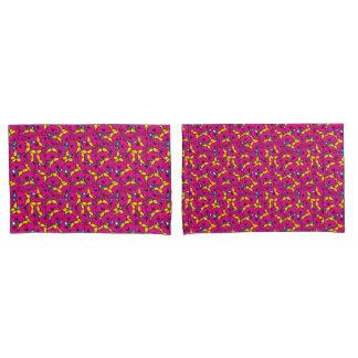 Teste padrão cor-de-rosa brilhante pequeno da