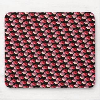 Teste padrão cor-de-rosa de Mousepad da rosquinha