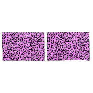 Teste padrão cor-de-rosa de néon do animal do