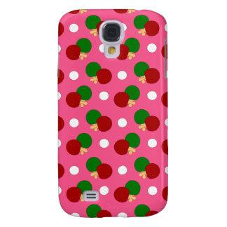 Teste padrão cor-de-rosa do pong do sibilo galaxy s4 cases