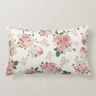 Teste padrão cor-de-rosa elegante dos rosas do almofada lombar