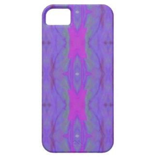 Teste padrão cor-de-rosa fluorescente do chique da capas para iPhone 5