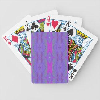 Teste padrão cor-de-rosa fluorescente do chique da carta de baralho