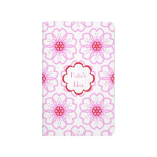 Teste padrão cor-de-rosa vermelho abstrato do diário