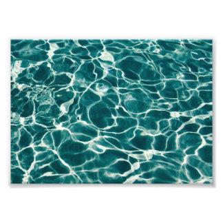 Teste padrão da água da piscina foto