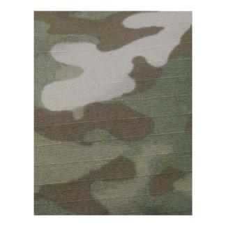 teste padrão da camuflagem do camo flyer 21.59 x 27.94cm