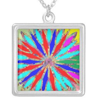Teste padrão da energia do arco-íris pingentes