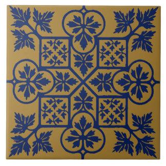 Teste padrão da folha do vintage de Augustus Pugin
