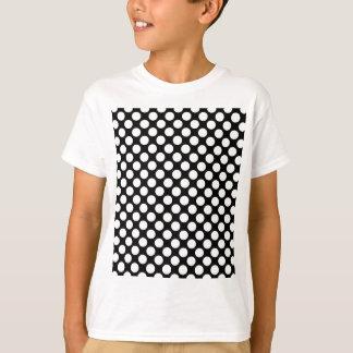 Teste padrão da modificação das bolinhas camiseta