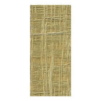 teste padrão da palha 10.16 x 22.86cm panfleto