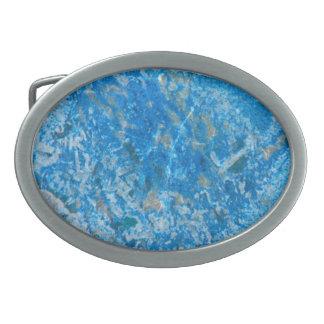 Teste padrão da pedra de gema, granito azul