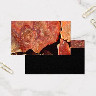 teste padrão da rocha do modelo de cartão de