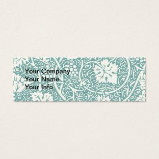Teste padrão da uva do papel de parede floral do cartão de visitas mini