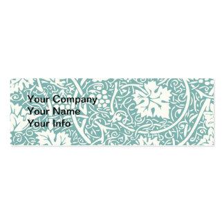 Teste padrão da uva do papel de parede floral do v modelos cartão de visita