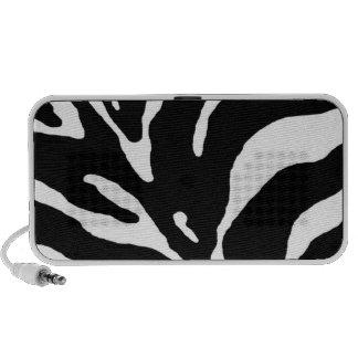 Teste padrão da zebra caixinhas de som para iPod