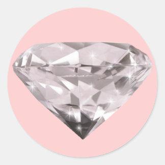 teste padrão dado forma dos diamantes adesivo