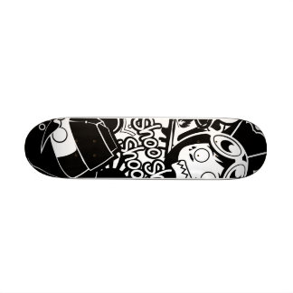 Teste padrão de A.S.D Shape De Skate 20cm
