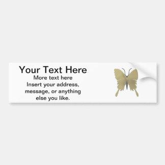 Teste padrão de borboleta adesivo para carro