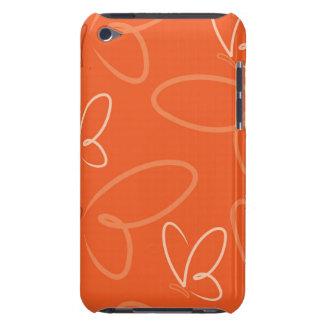 Teste padrão de borboleta capa para iPod touch