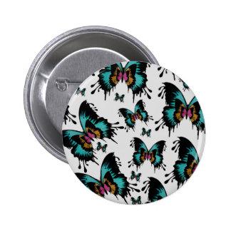 Teste padrão de borboleta de derretimento pins