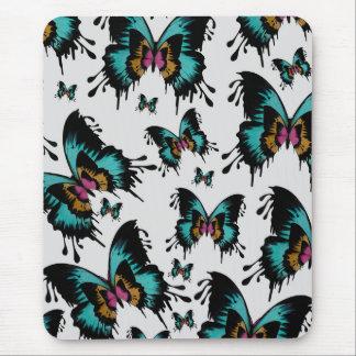 Teste padrão de borboleta de derretimento