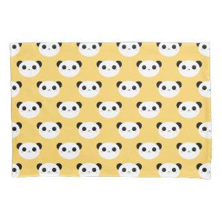 Teste padrão de cora bonito da cara da panda de
