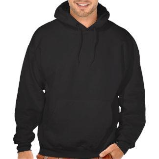 Teste padrão de estrela colorido jaqueta de moleton bordada com capuz
