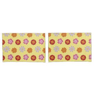 Teste padrão de flor amarelo floral das margaridas