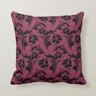 Teste padrão de flor elegante travesseiros