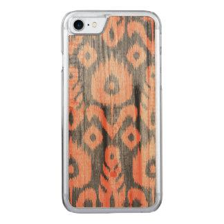 Teste padrão de Ikat Capa iPhone 7 Carved