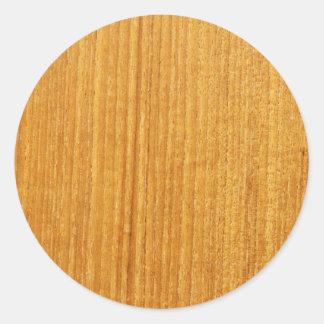 Teste padrão de madeira da grão adesivo