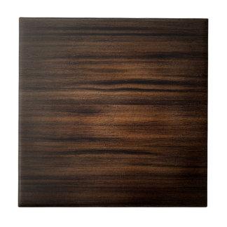 Teste padrão de madeira escuro da textura de Brown