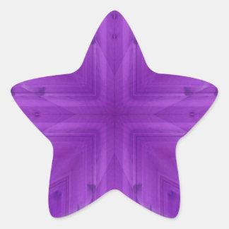 Teste padrão de madeira roxo da textura adesito estrela