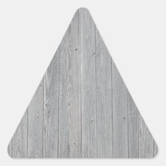 Teste padrão de madeira velho da textura adesivo triangular