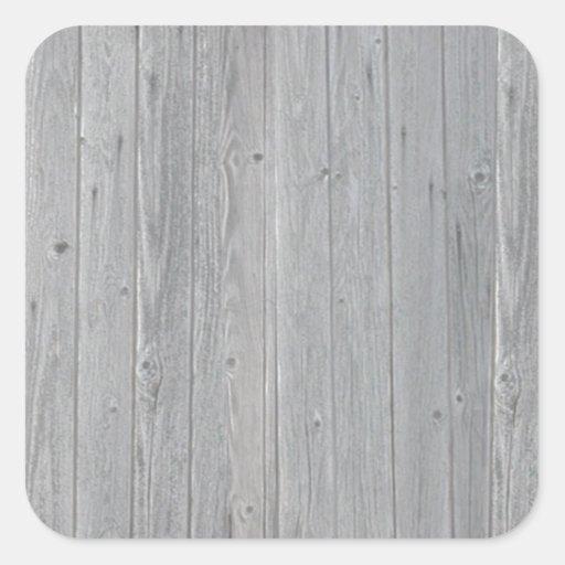Teste padrão de madeira velho da textura adesivos quadrados