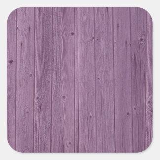 Teste padrão de madeira violeta da textura. Design Adesivos