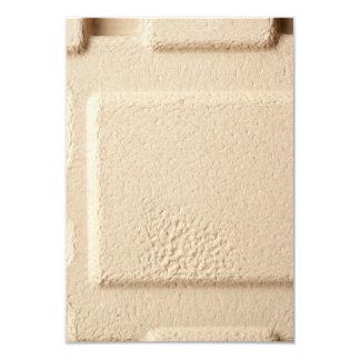 Teste padrão de molde do cartão convite 8.89 x 12.7cm