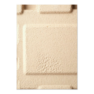 Teste padrão de molde do cartão convite 12.7 x 17.78cm