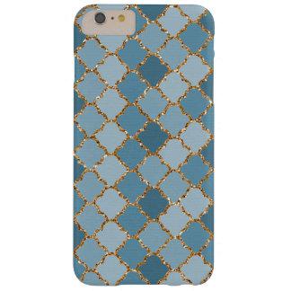 Teste padrão de mosaico brilhante do brilho do capas iPhone 6 plus barely there
