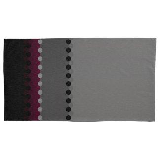 Teste padrão de ponto preto cinzento decorativo de