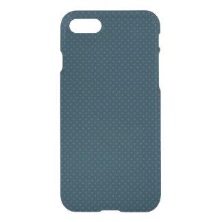 Teste padrão de pontos azul, caso do iPhone 7 Capa iPhone 7