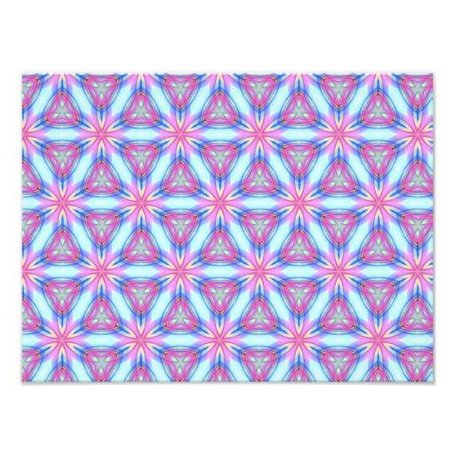 Teste padrão de repetição bonito da mandala do cal foto