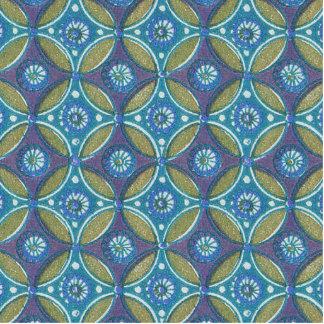 Teste padrão de repetição geométrico do papel de fotoescultura