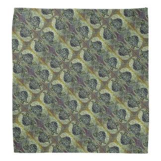 Teste padrão decorativo da tartaruga bandana